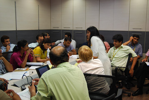 Training Workshop by Anjuli Gopalakrishna at DG