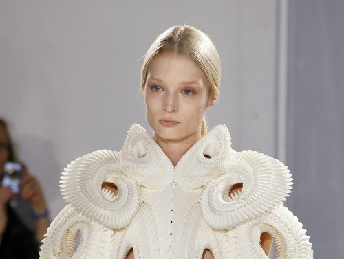 Irist-van-herpen-first 3-D-printed-dress