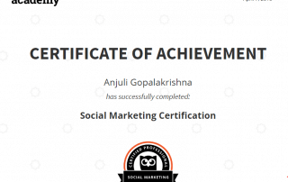 Social Marketing Certification