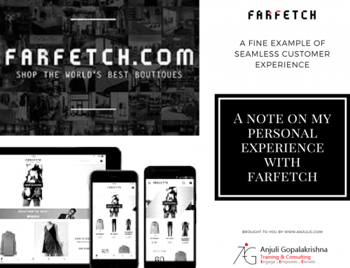 A fine example of seamless customer experience -Farfetch