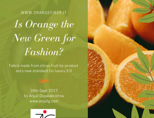 Is Orange the New Green for Fashion?