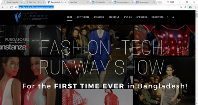 Fashion Tech Runway Show in Bangladesh