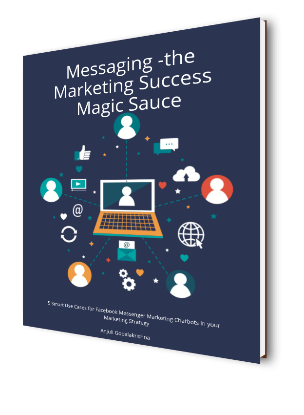 Free E-Book 5 Powerful Use cases for Facebook Messenger Marketing