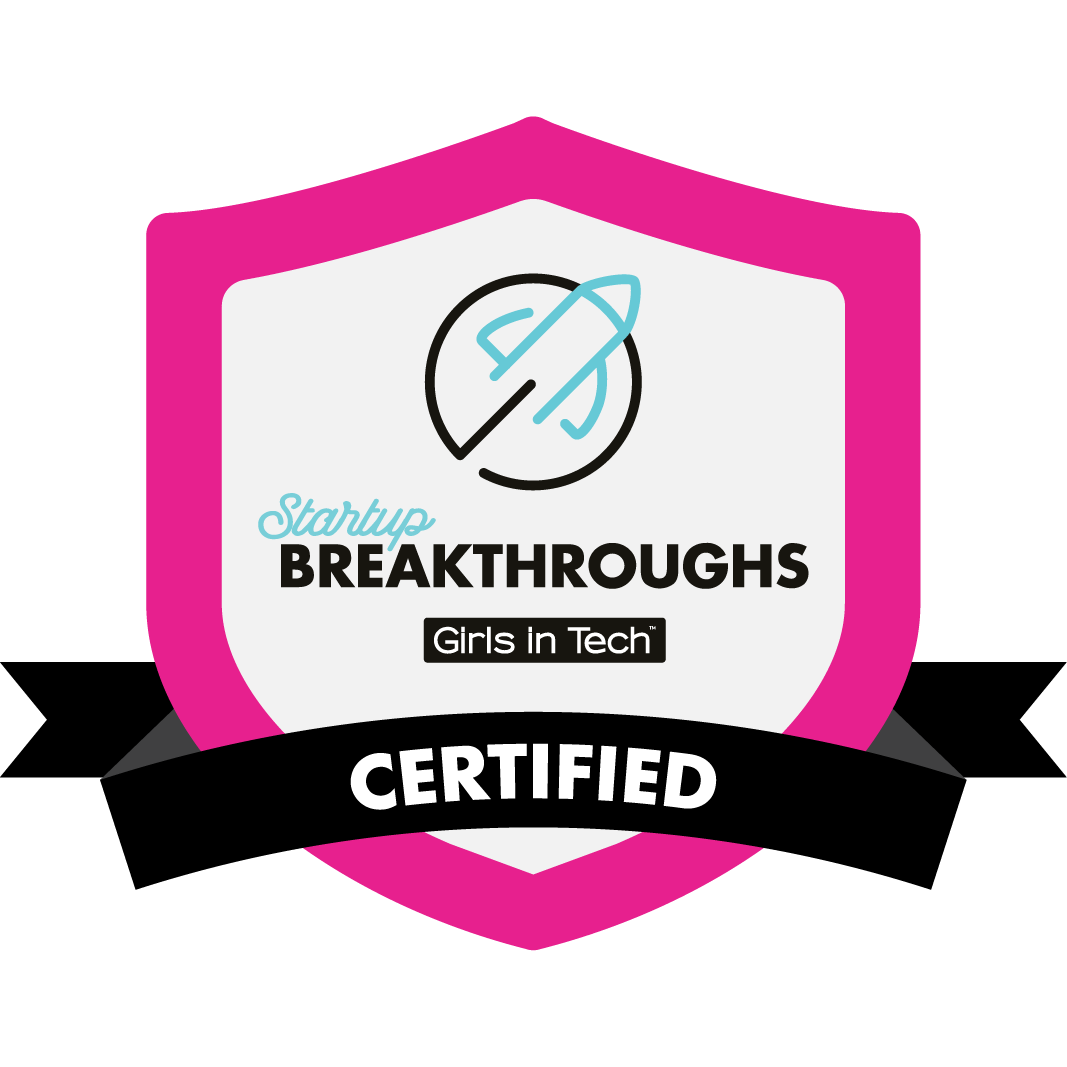 Girls in Tech Singapore certification badge