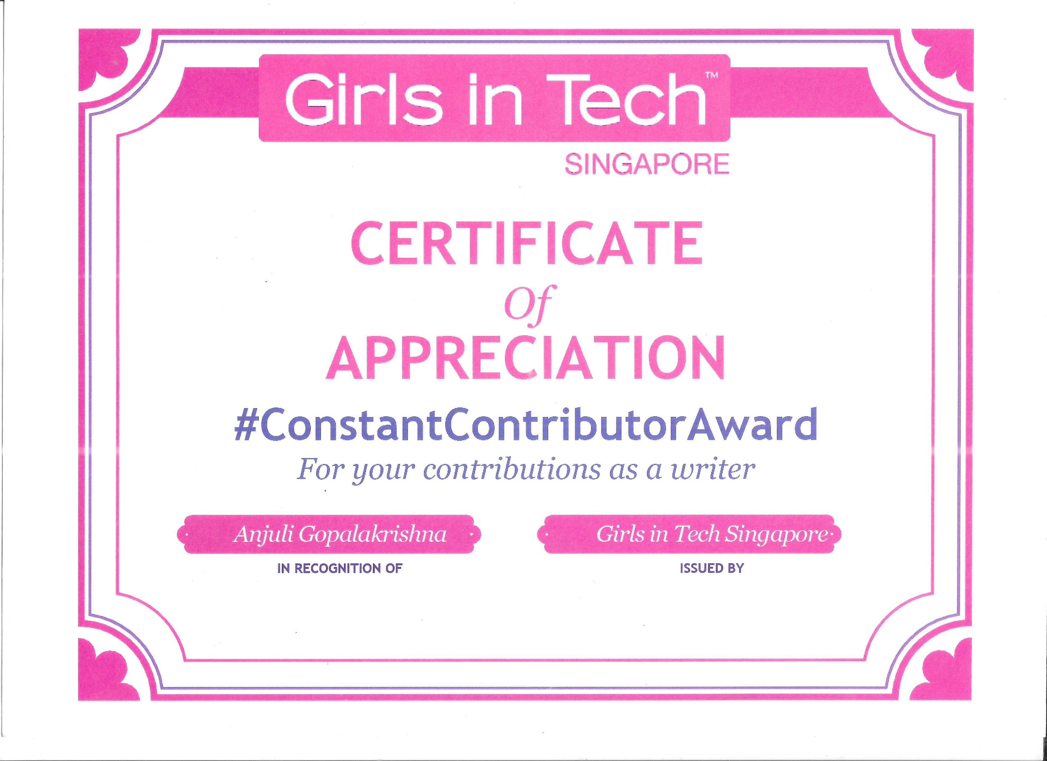 Girls in Tech Singapore