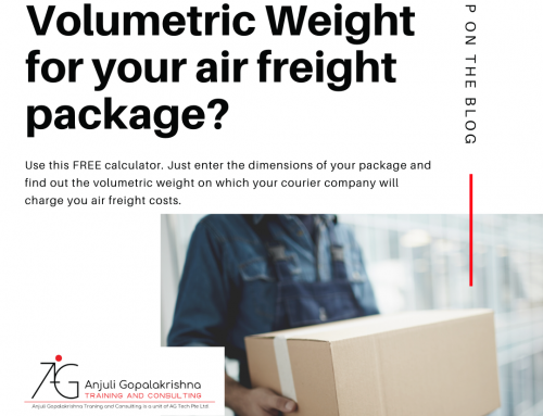 How to calculate volumetric weight for air freight?