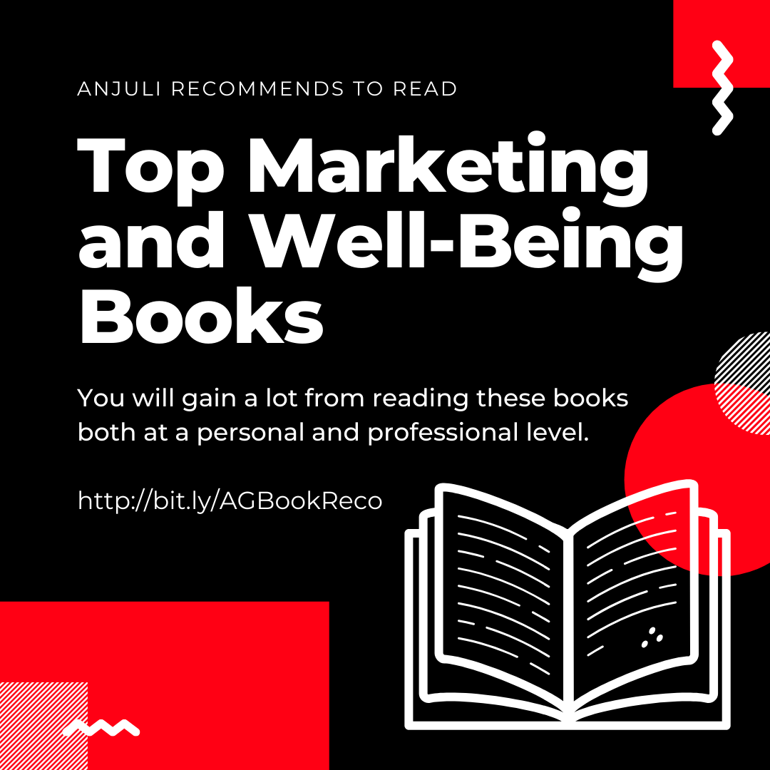 Top Marketing and Well - Being Books