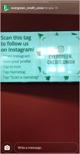 Use Instagram Name Tag at an event
