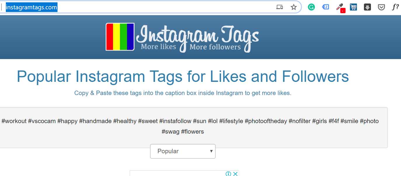Instagramtags