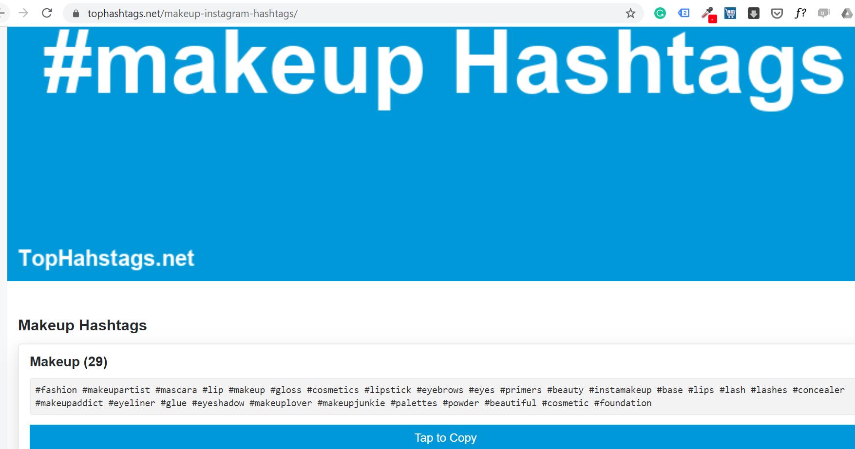 tophashtags