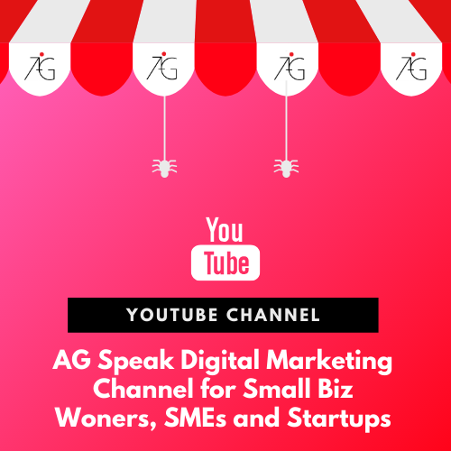 AGSpeak Digital Marketing Talk Show Singapore YouTube Channel