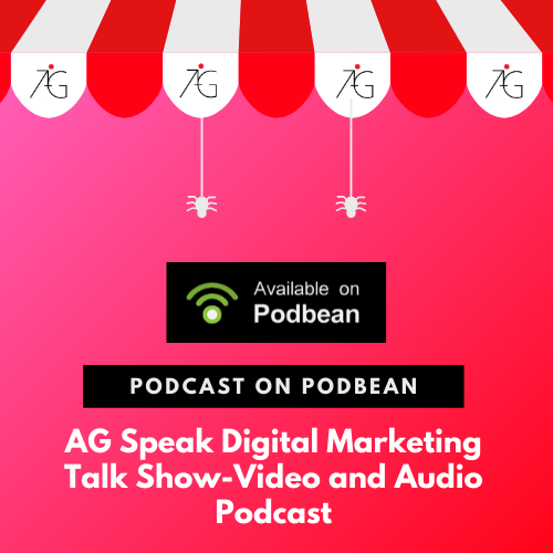Podbean Podcast AGSpeak Digital Marketing Talk Show Singapore