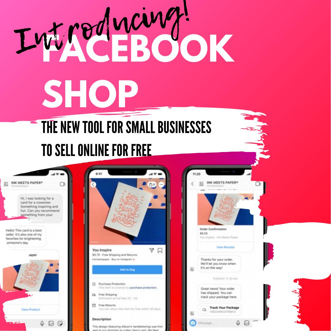 Facebook Shop - New Feature